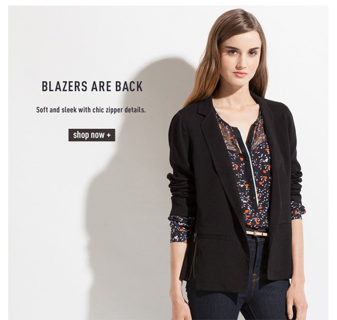 Blazers Are Back - Shop Now