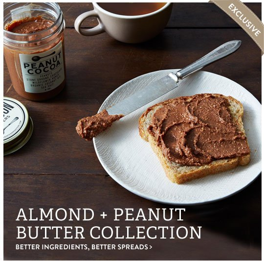 Almond + Peanut Butter
