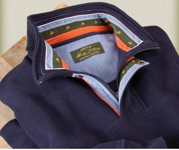 """""""As always...worth the price. Sweatshirt washes and dried without shrinkage. Color is just as bright and rich as brand new."""" —orvis.com customer, Sussex, NJ"""