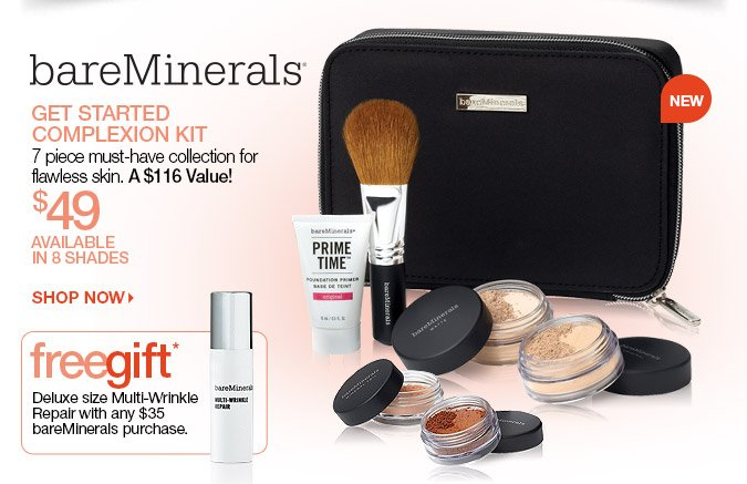 bareMinerals Complexion Kit + FREE GIFT with Purchase > Shop Now
