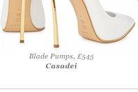 Blade Pumps, £545 Casadei