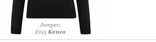 Jumper, £215 Kenzo