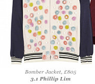 Bomber Jacket, £805 3.1 Phillip Lim