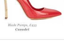 Blade Pumps, £455 Casadei