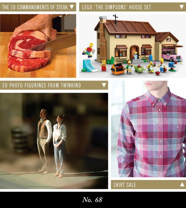 The 10 Commandements of Steak | Lego The Simpsons House Set | 3D Photo Figurines From Twinkind | Sale Shirts