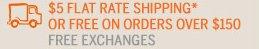 $5 SHIPPING*