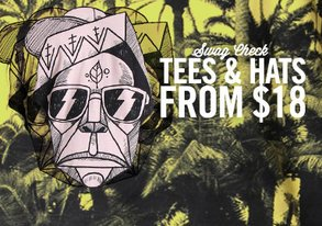 Shop Swag Check: Tees & Hats from $18
