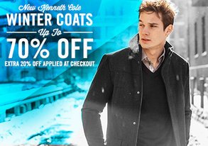 Shop Extra 20% Off New Kenneth Cole Coats