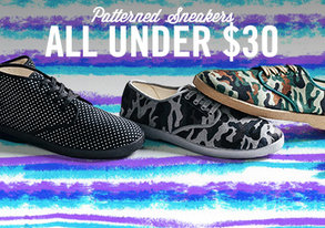 Shop Patterned Sneakers ALL Under $30
