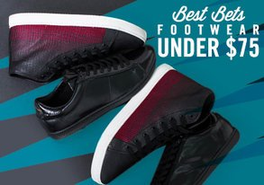 Shop Best Bets: Footwear Under $75