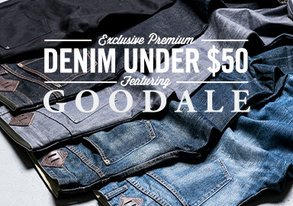 Shop Exclusive Goodale Denim Under $50