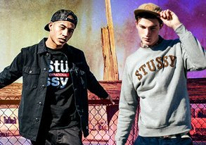 Shop Stussy is HERE: Hats & Hoodies