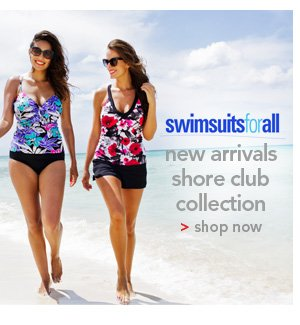Shop SwimSuitsForAll New Arrivals Shore Club Collection