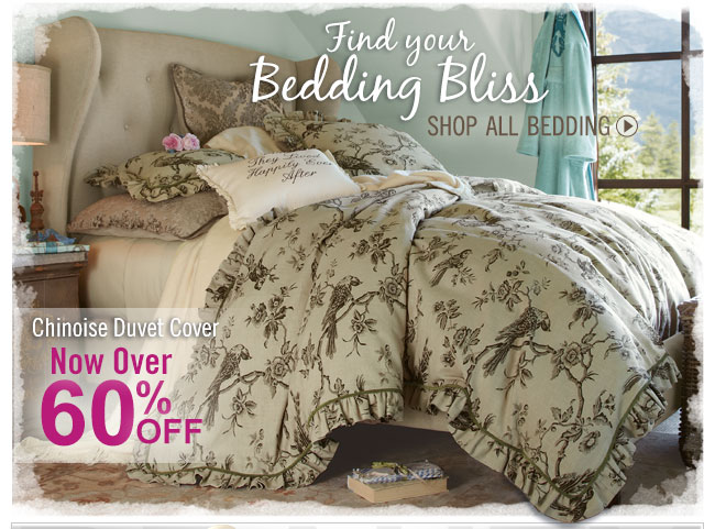 Find your Bedding Bliss. Shop All Bedding