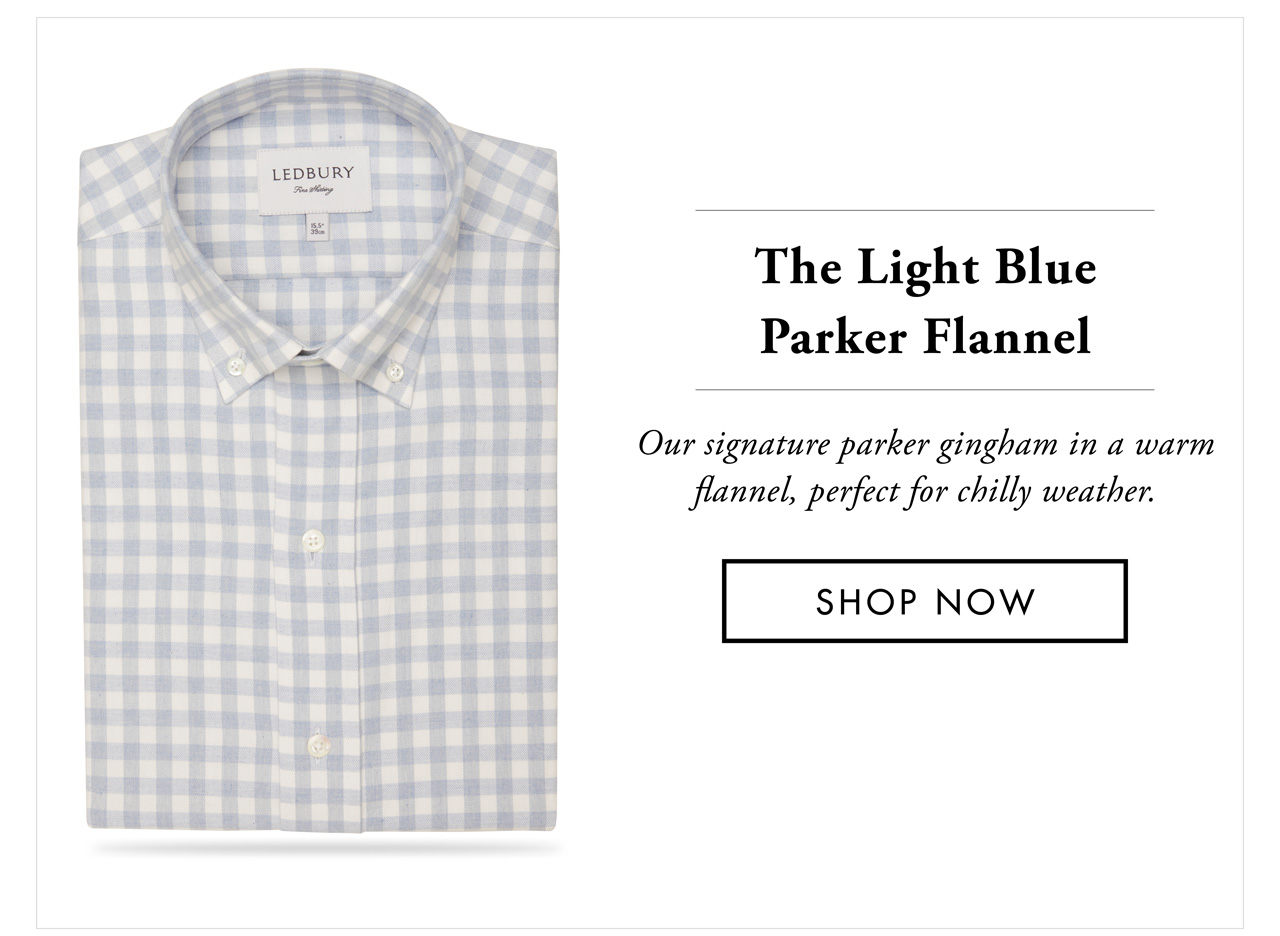 The Light Blue Parker Flannel