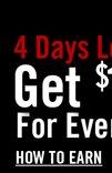 4 DAYS LEFT - GET $15 HOT CASH