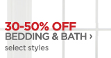 30-50% OFF BEDDING & BATH ›   select styles