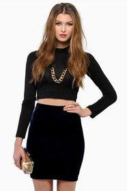 Proper Standards Velour Skirt 22