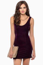 Undisclosed Velour Dress 28