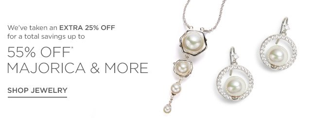 Up to 55% off Jewelry