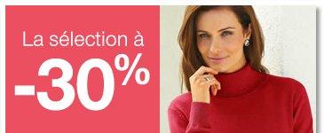 La sélection à -30%