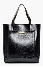MARNI Midnight Blue Shopping Tote for women
