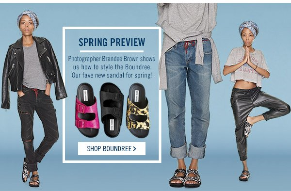 Spring Preview! Shop Boundree