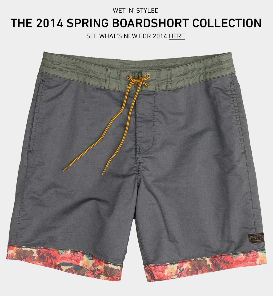Get Wet 'n' Styled: Shop New Boardshorts