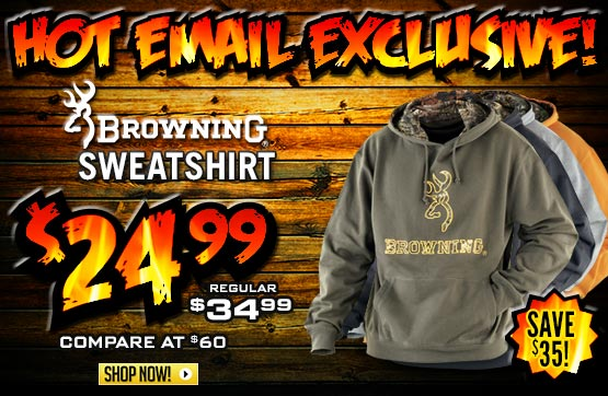 Browning® Hooded Sweatshirt