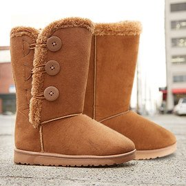 Warm Walks: Shearling-Style Boots
