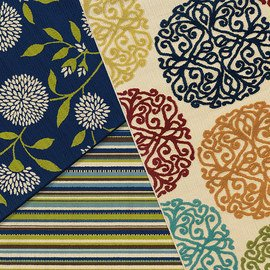 Patterned Spaces: Indoor & Outdoor Rugs