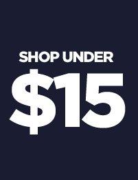 Shop Under 15