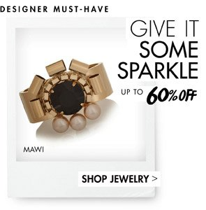 JEWELRY - UP TO 60% OFF