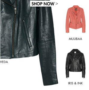 LEATHER JACKETS - SHOP NOW