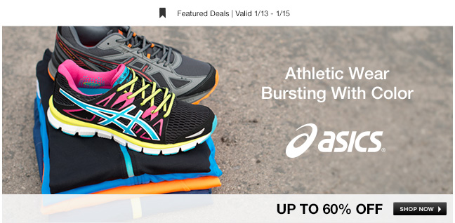 Athletic Wear Bursting With Color