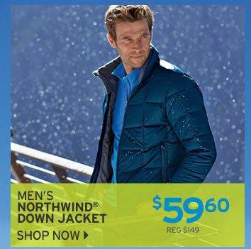 Shop Men's Northwind Down Jacket