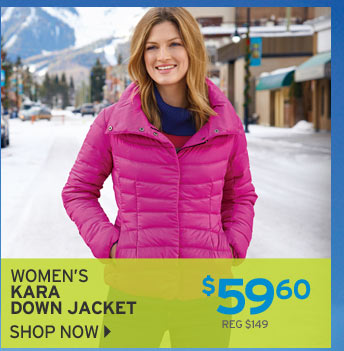 Shop Women's Kara Down Jacket