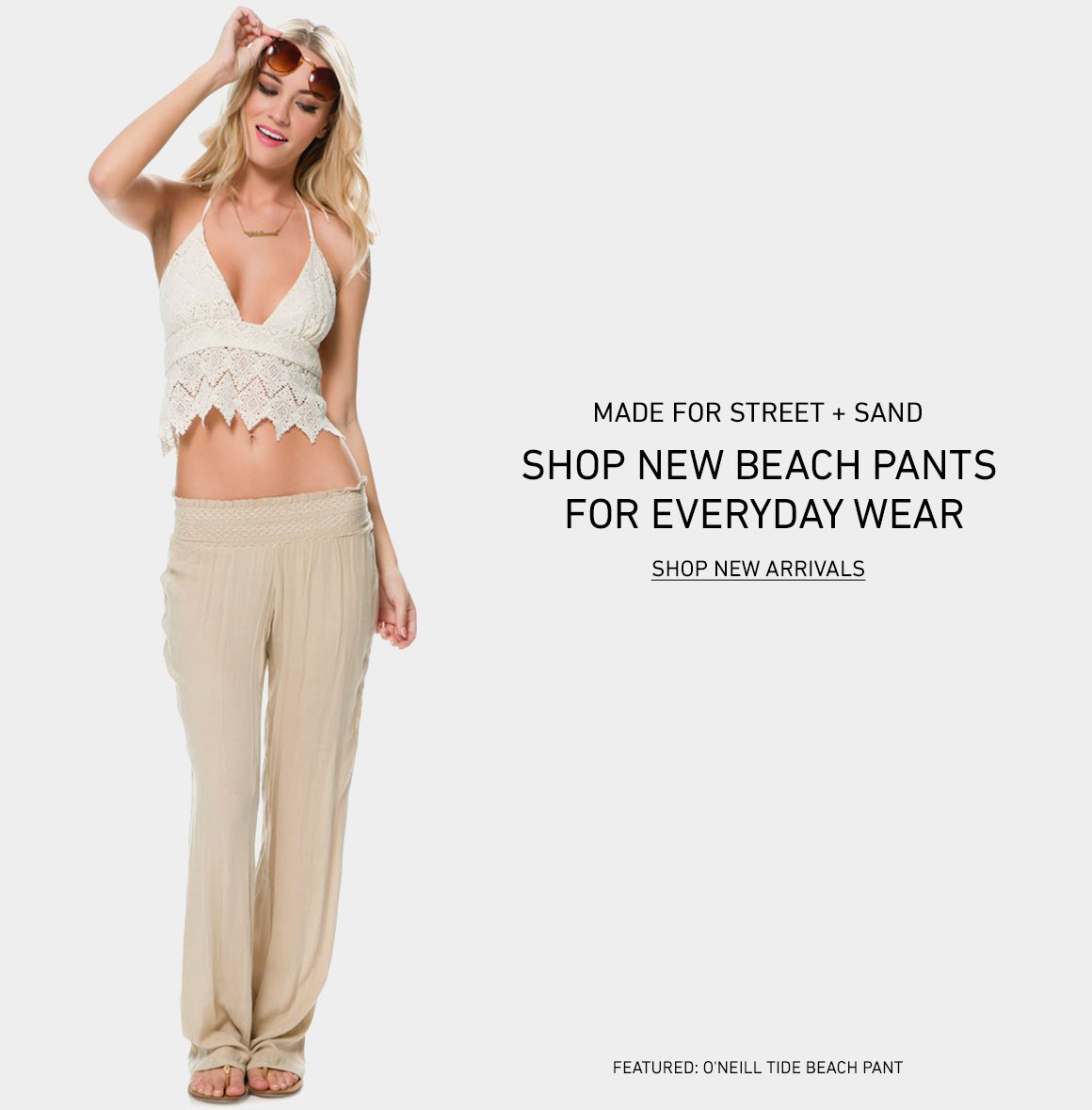 For Street and Sand: New Beach Pants
