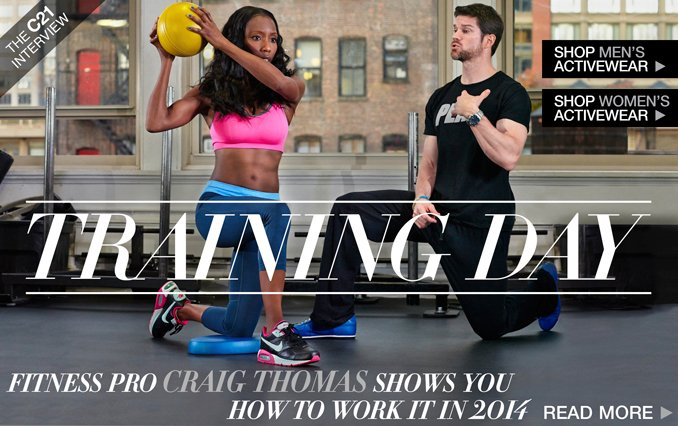 Read About Craig Thomas - Personal Trainer