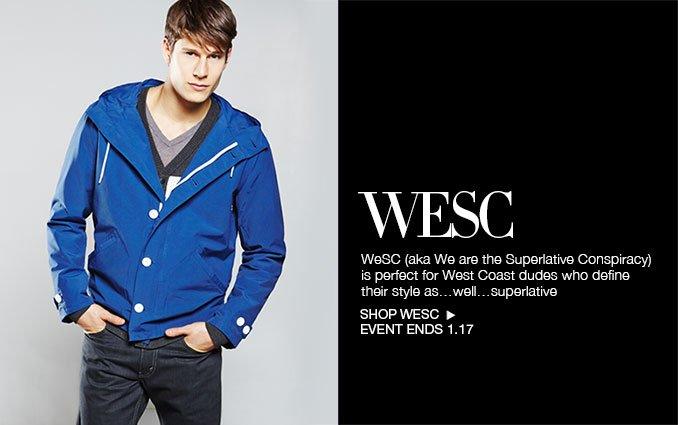 Shop WESC for Men
