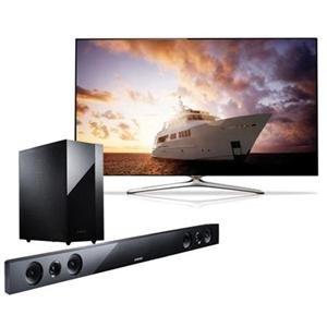 Adorama - Samsung UN55F7500 55 1080p 240Hz 3D LED Smart TV - Bundle - with Samsung HW-F450 2.1 Channel Sound Bar System