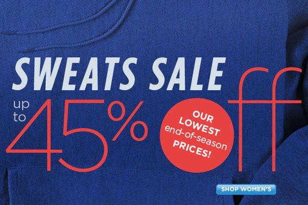 SHOP Women's Sweats
