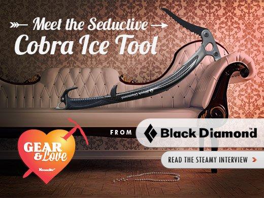 Check up the Seductive Black Diamond Cobra Ice Tool