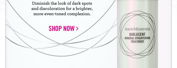 Diminish the look of dark spots