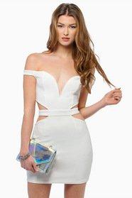 Below The Shoulders Dress 35