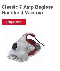 Classic 7 Amp Bagless Handheld Vacuum