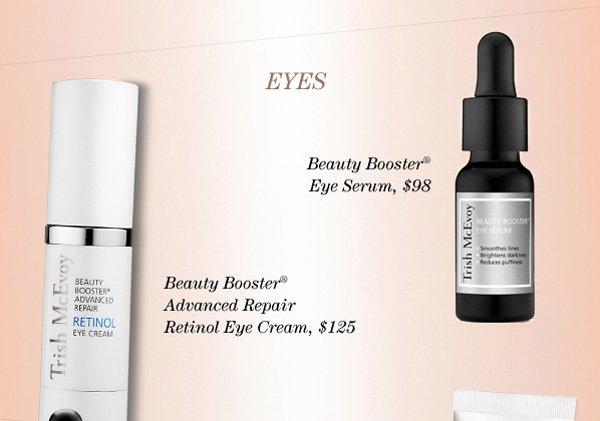 Trish's Beauty Booster® Eye Serum, Beauty Booster® Advanced Repair Retinol Eye Cream