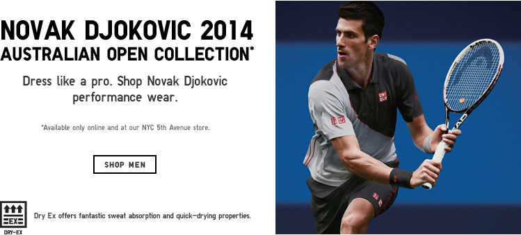 Shop Novak Djokovic