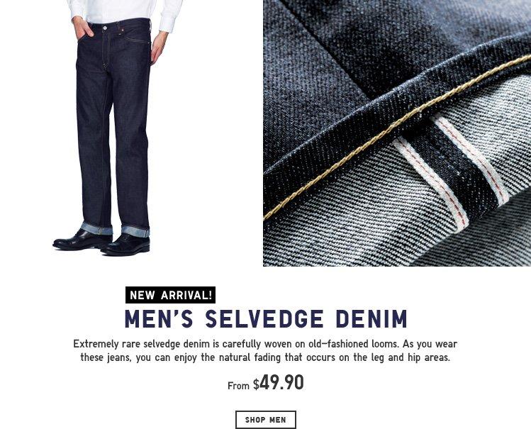 Men's Selvedge Denim