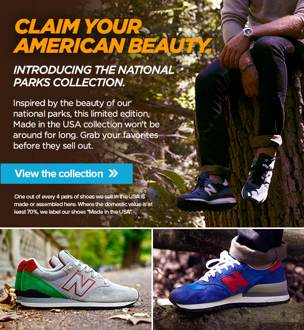 Made in USA National Parks Collection